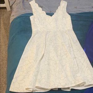 NEVER WORN WHITE DRESS